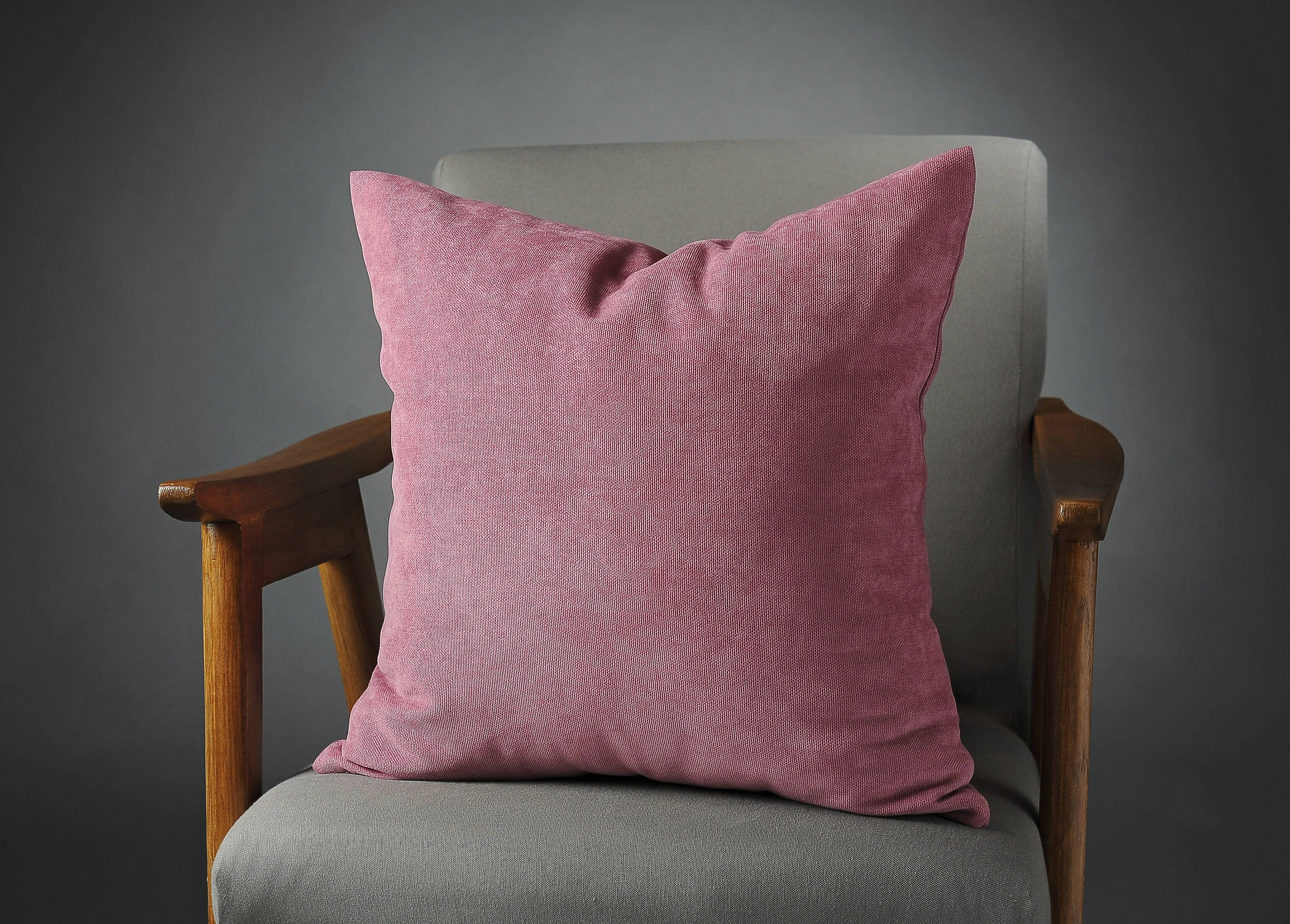 Pink Velvet Pillow Pink Velvet Cushion Pink Velvet