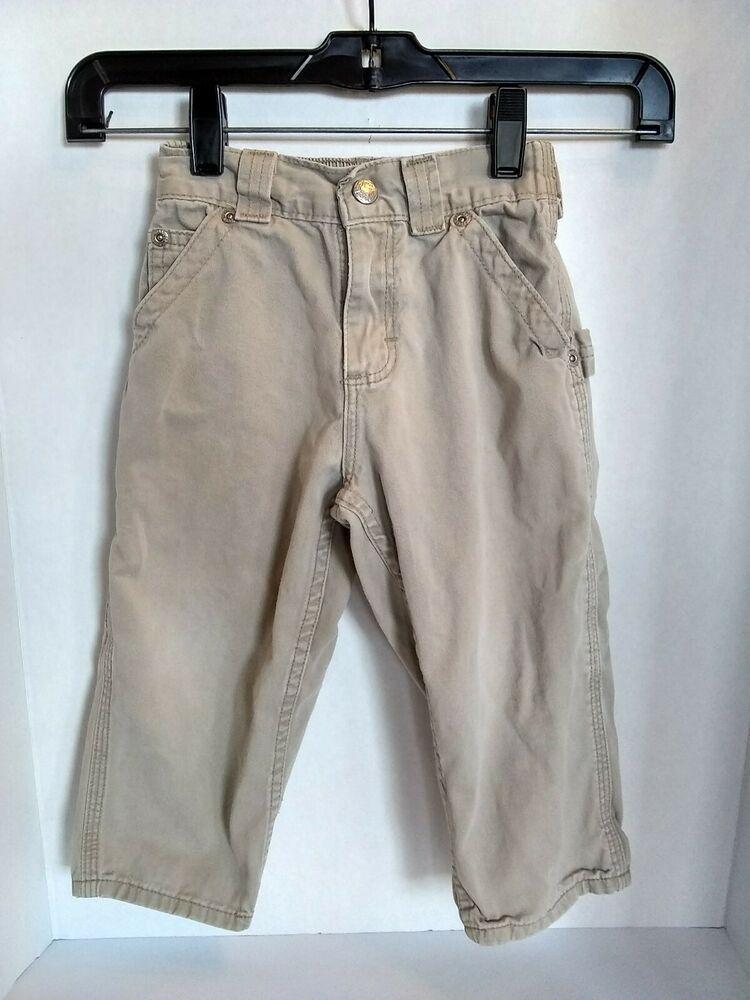 Vtg Oshkosh B Gosh Khaki Carpenter Pants 3t Boys Talon Zipper Tide Oshkoshbgosh Pants Everyday Khaki Chino Pants Vintage Childrens Clothing Dark Khaki