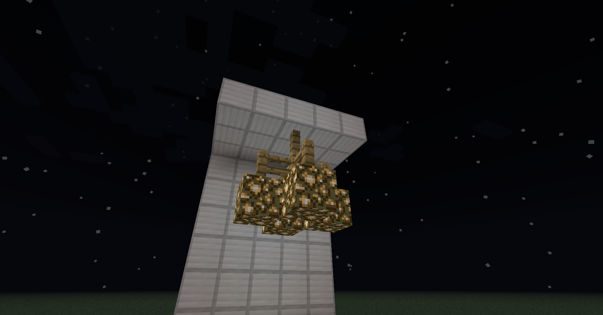 Minecraft Chandelier Glowstone