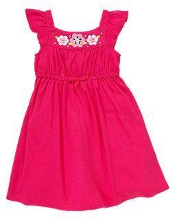 Bow Gem Blossom Dress