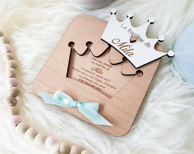 Invitation (10) de baptême coccinelle ailes amovibles faire-part original de baptême naissance anniversaire de bébé enfants fille et garçon
