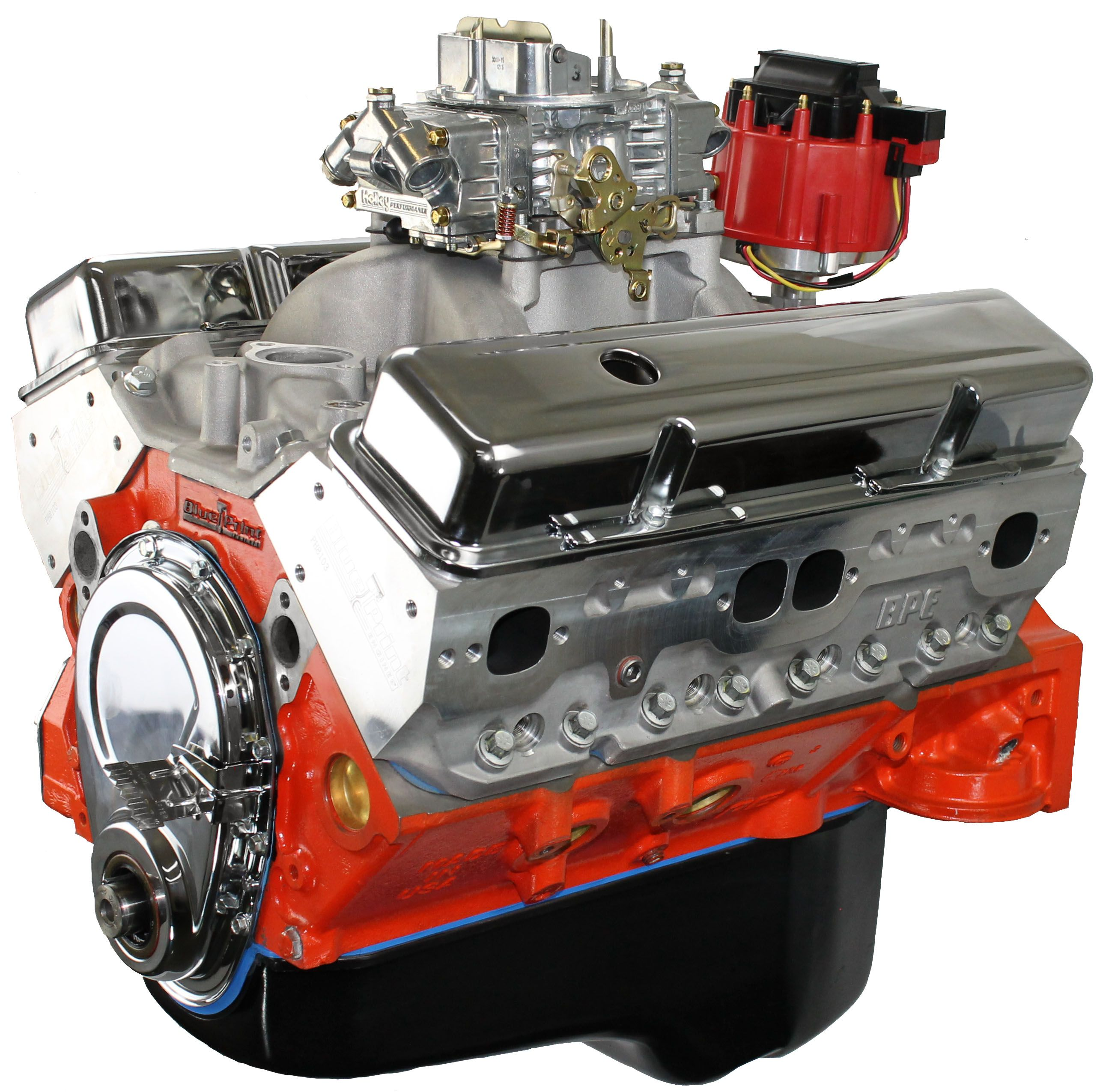 400ci stroker crate engine small block gm style dressed blueprint engines bp4002ctc1 508 hp473 torque features forged crank forged pistons roller camshaft and aluminum heads malvernweather Choice Image