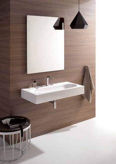 Bettecomodo Wall Mounted Washbasin By Bette Wash Basins Wash Basin Basin Design Kitchen Furniture Design