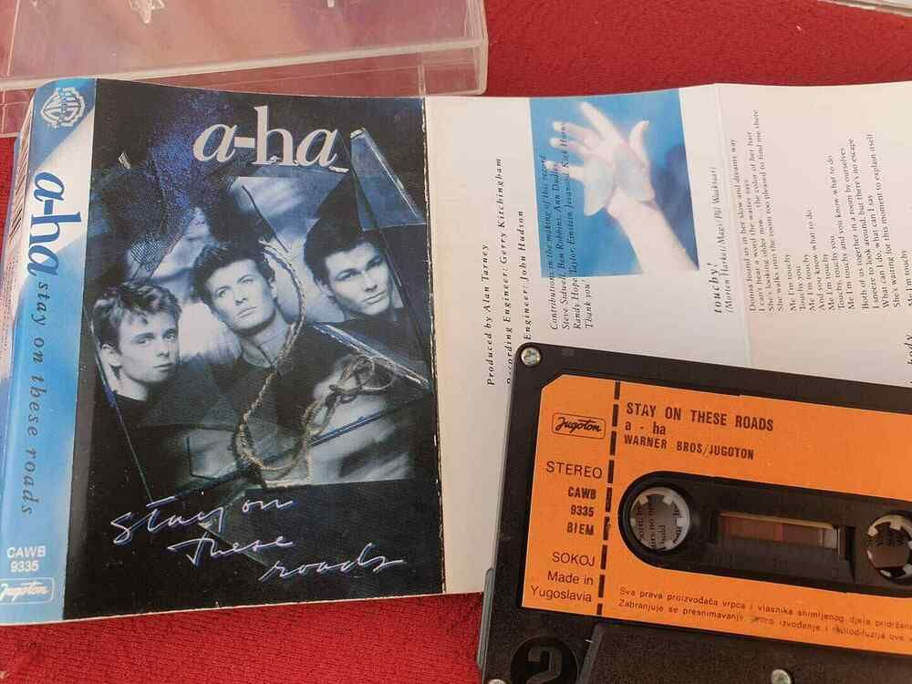 A Ha Stay On These Roads 1988 Yugoslavia A Ha Morten Harket