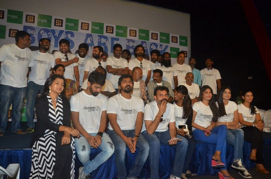 Chennai28ii movie press meet photos movies pressing photo