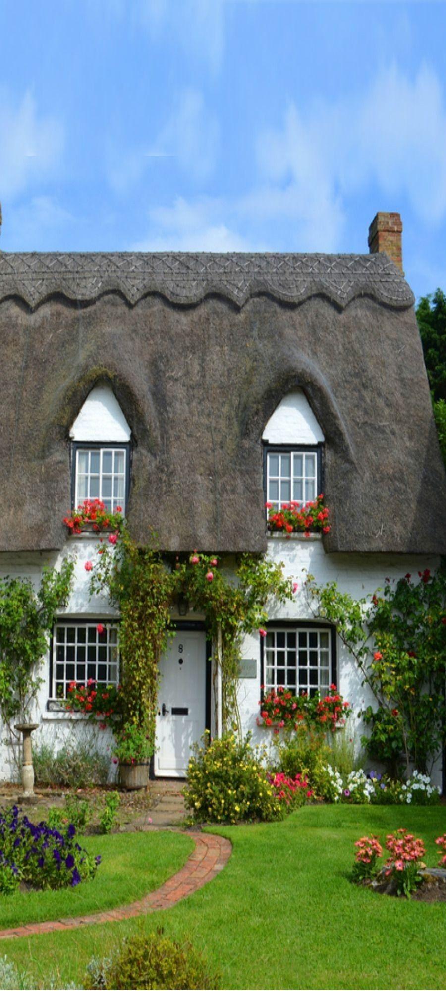 Roof Ideas Thatched Cottage Dream Cottage Romantic Cottage