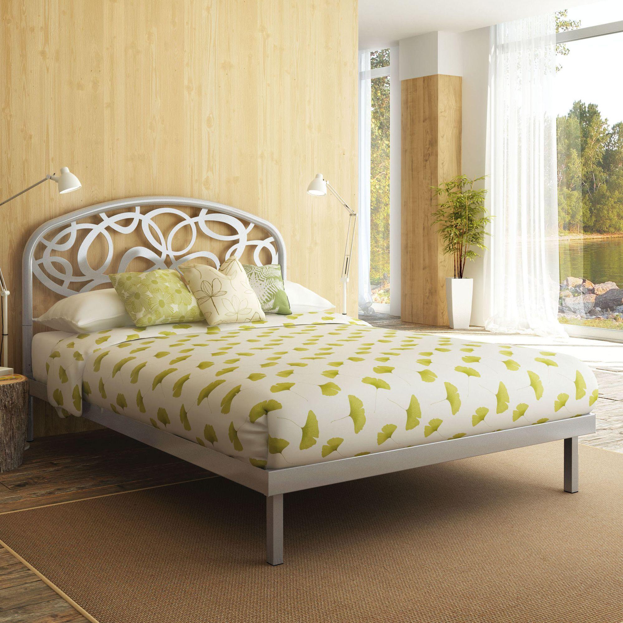 alba metal platform bed products pinterest metal platform bed