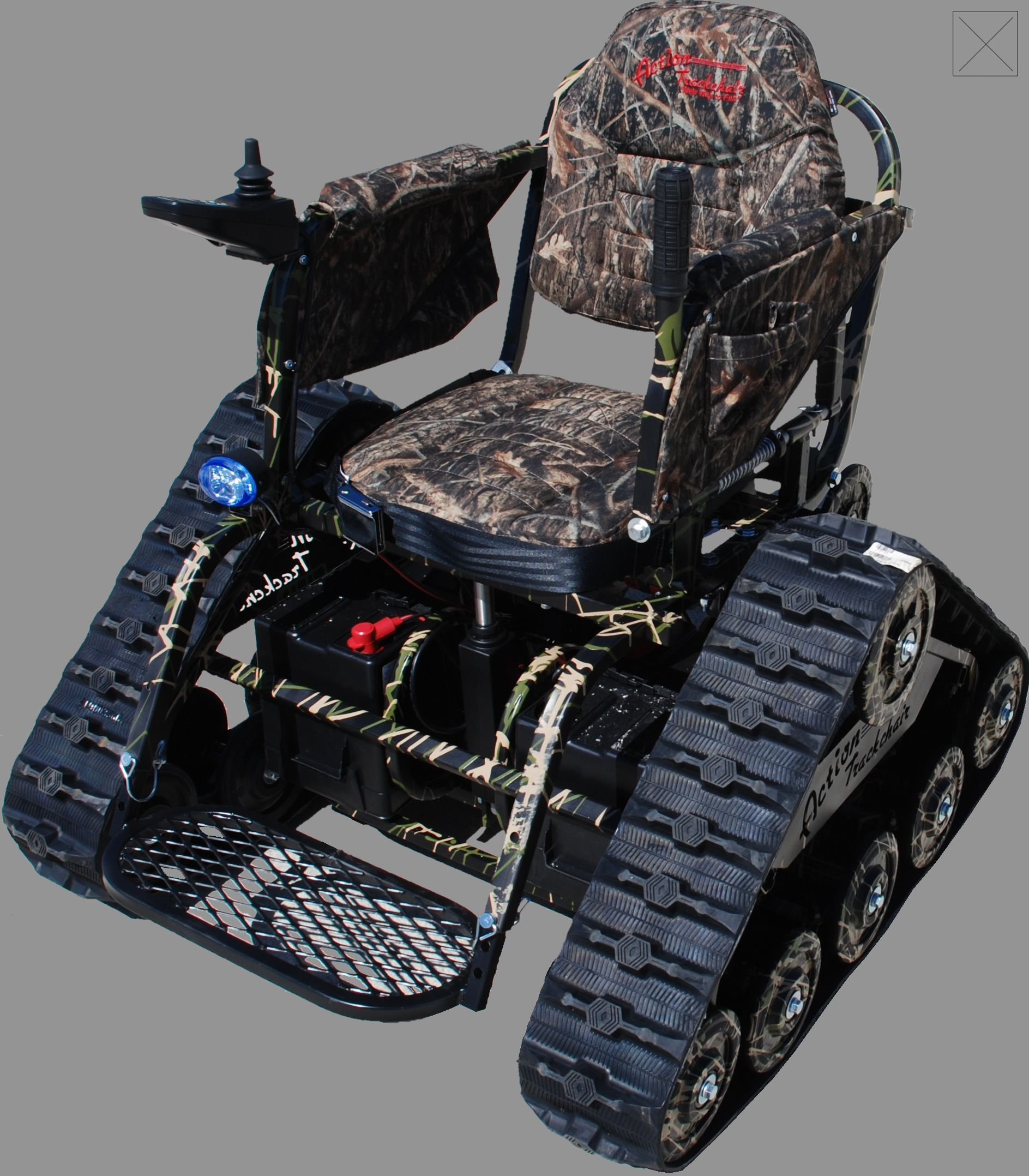 Action Track Chair All Terrain Vehicle From