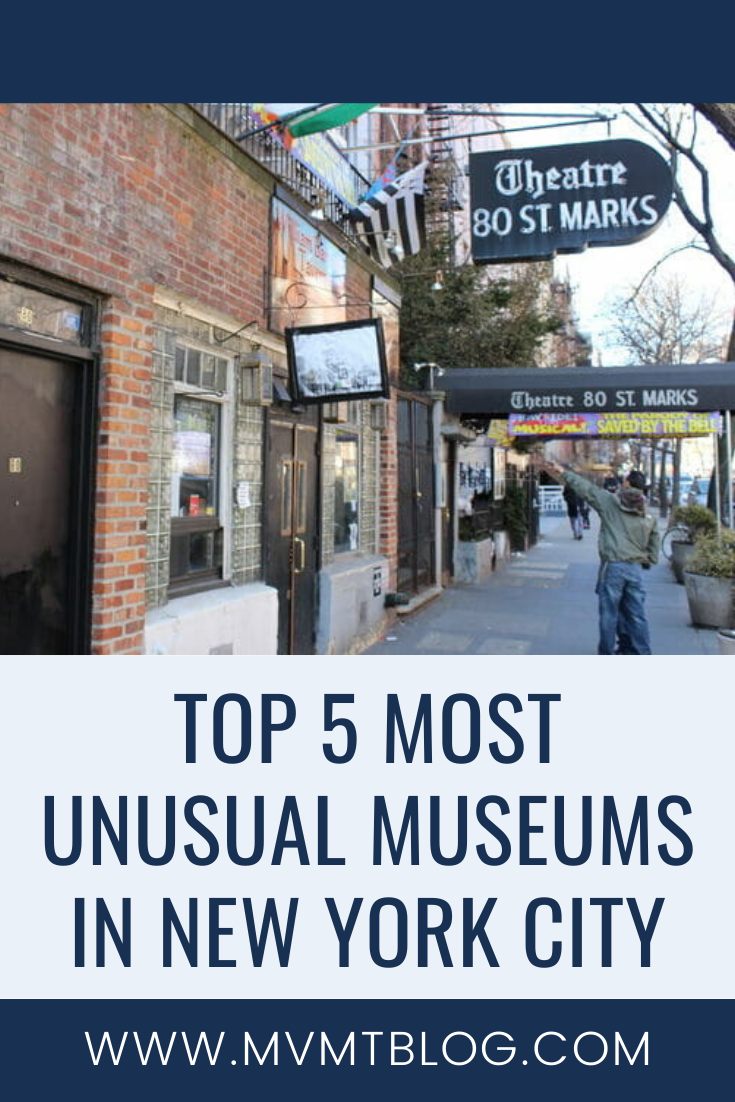 Top 5 Most Unusual Museums In Nyc Museums In Nyc New York Museums Magical Vacations Travel