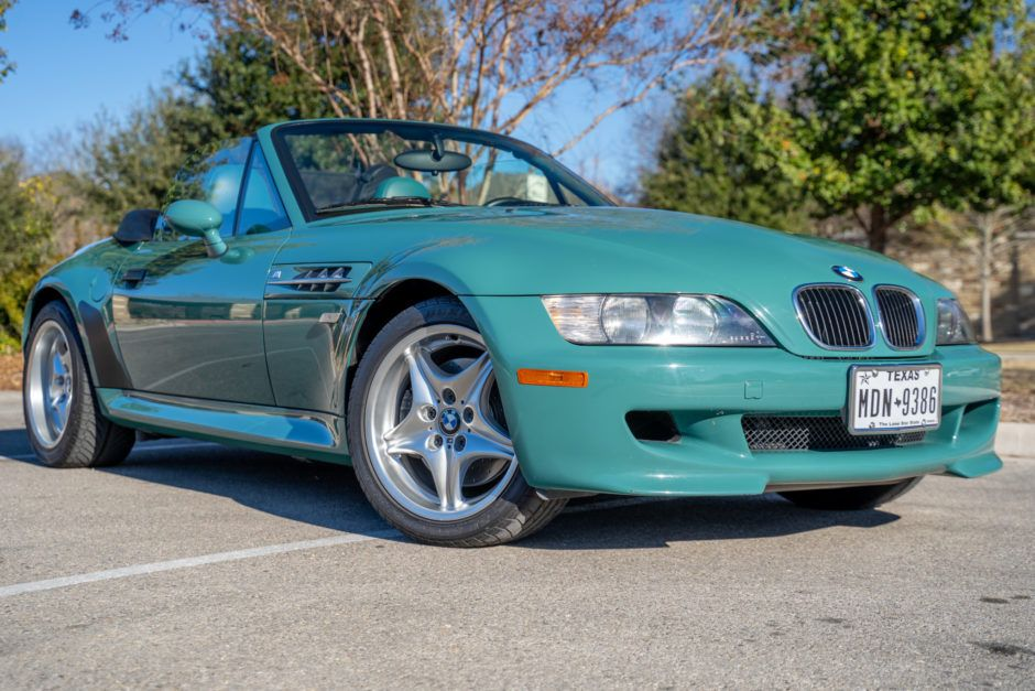 No Reserve 1999 Bmw M Roadster Bmw Roadsters Manual Transmission