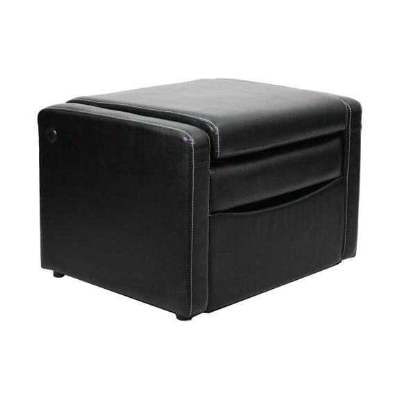 Stupendous Gaming Chair Ottoman Available At Walmart Shown Folded For Machost Co Dining Chair Design Ideas Machostcouk