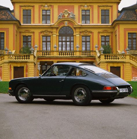 Commence obsession with classic Porsche 911s, Jag E-Types, and the like.