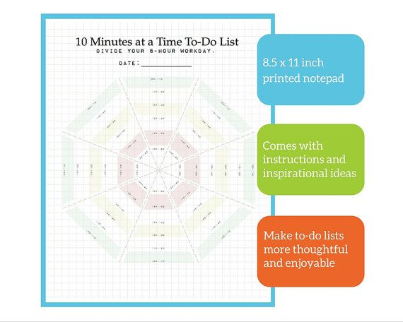 Micromanage yourself! Connect the dots to shape your workday using
