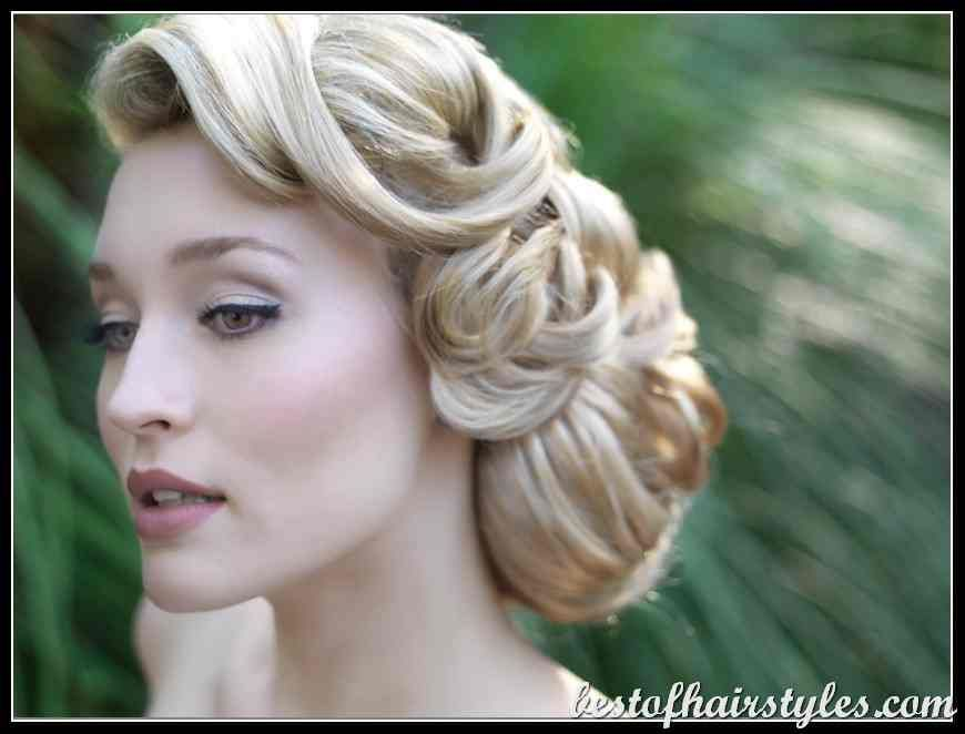 35 Wedding Hairstyles Discover Next Year S Top Trends For: 1940 S Women Retro Hairstyles