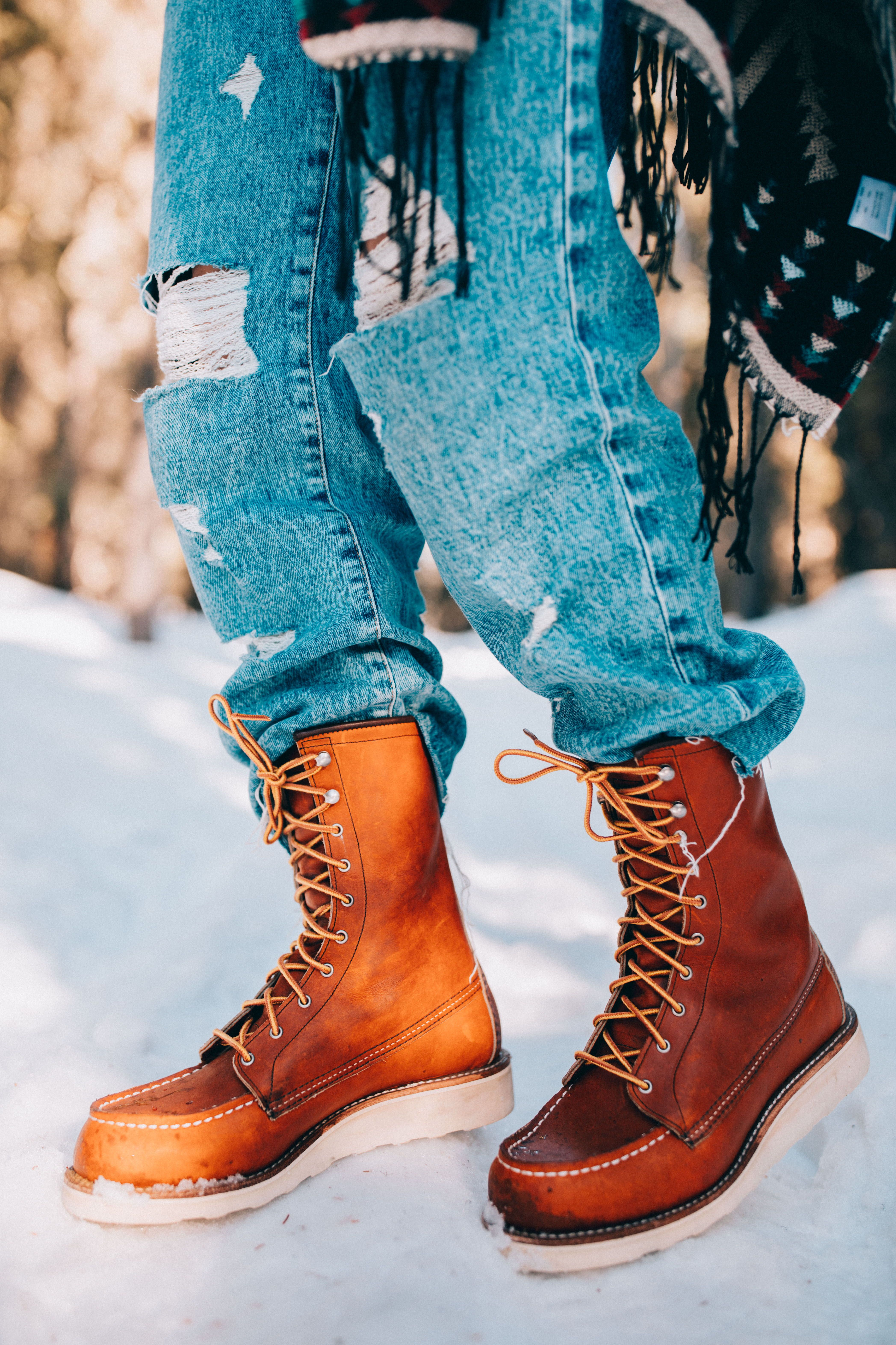 Red wing boots, Mens