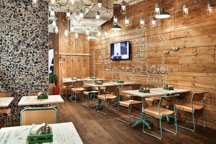 El otro d a buscando ejemplos de decoraci n de paredes for Decoracion de interiores a distancia