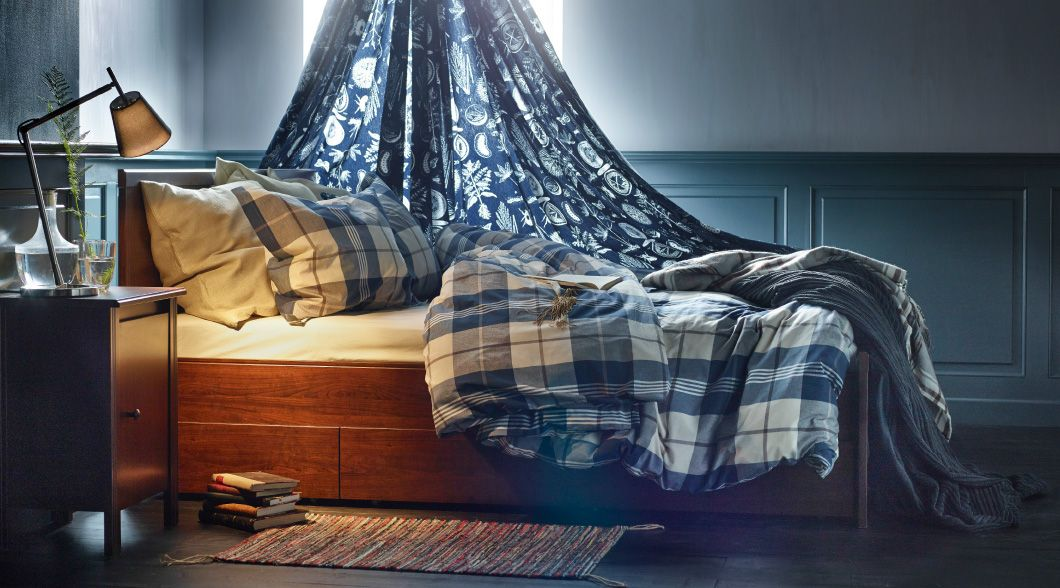 45 Ikea Bedrooms That Turn This Into Your Favorite Room Of The House Ikea Bedroom Ikea Home Ikea Small Bedroom
