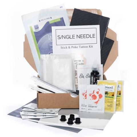Stick & Poke Tattoo Supplies & Kits | Hand Poke Tattoo Sets Online