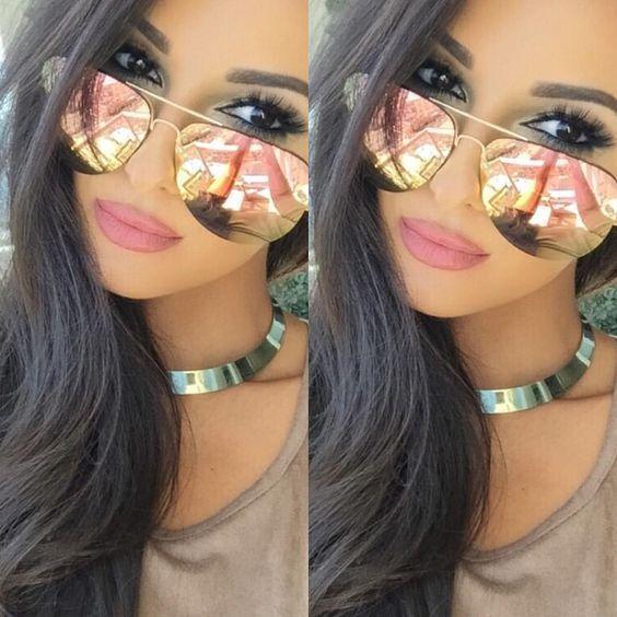 bd11bc767b My Muse Sexy Girl Women Oversized Mirror Reflective Lens Women Men  Sunglasses  FashionDeals  Aviator