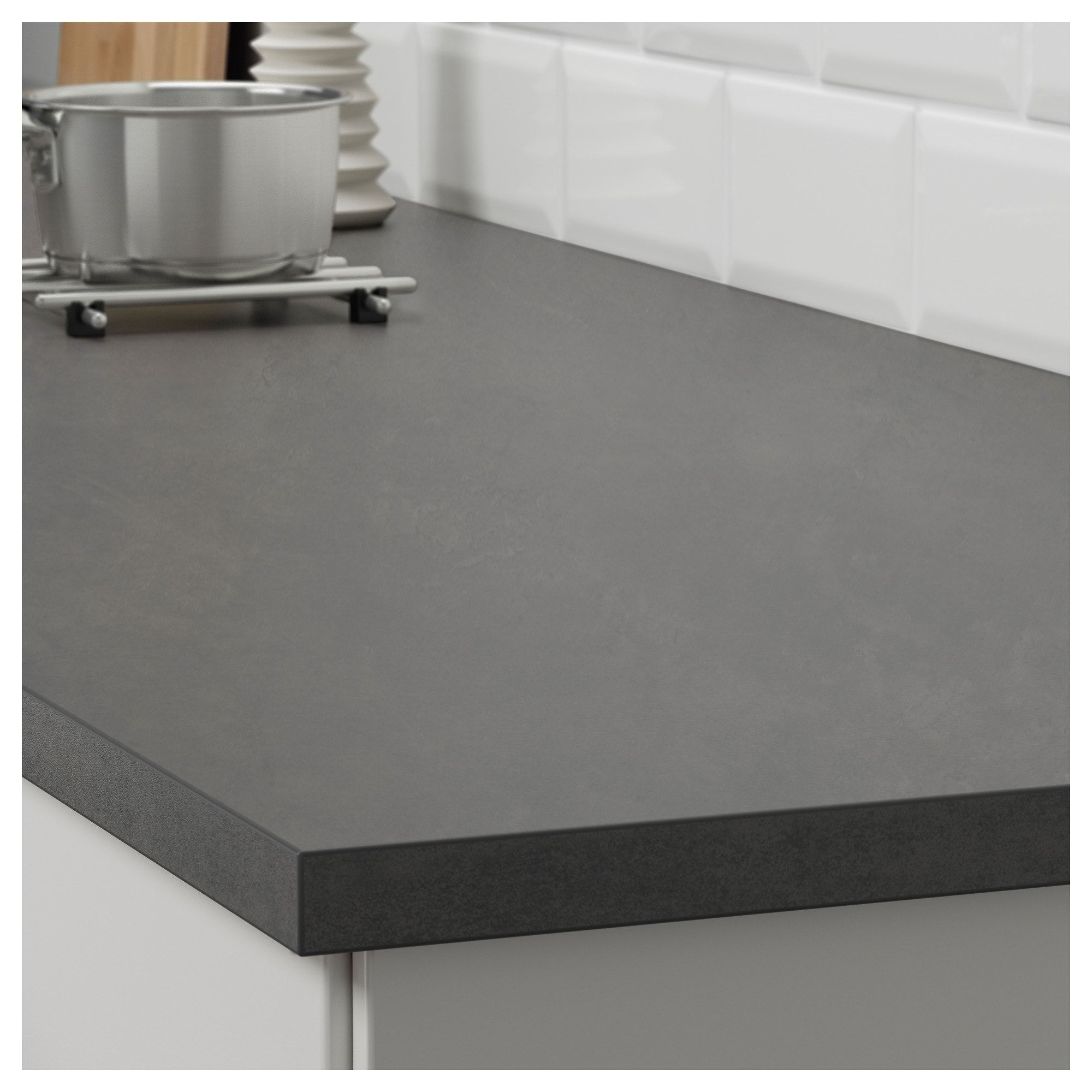 Countertop Concrete Effect Laminate 74x1 1 8 Laminate