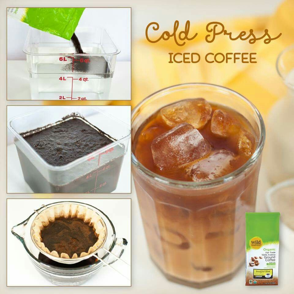 Cold press iced coffee food recipes iced coffee