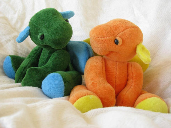 Little Bit Dragon Plush PDF Sewing Pattern by NimblePhish on Etsy ...