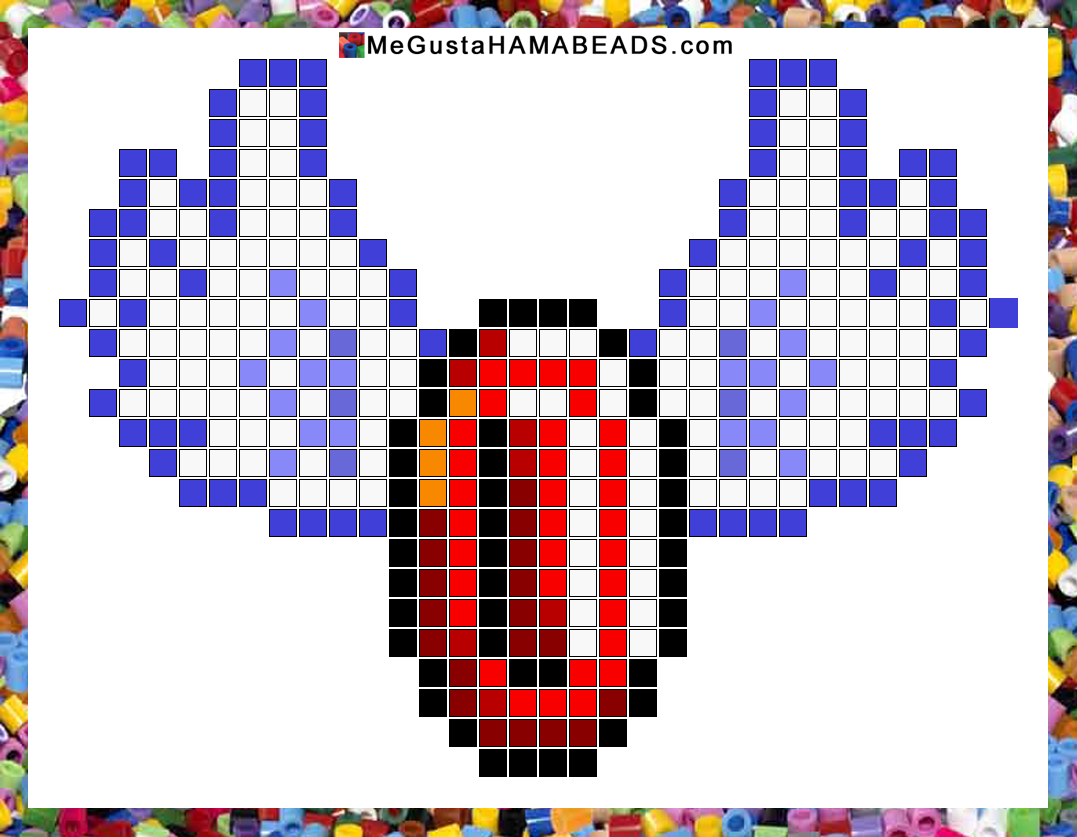 MeGustaHAMABEADS.com: Patrones Hama Beads Super Mario World parte 2 ...