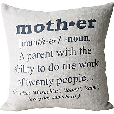 10 34 1 Pcs Cotton Linen Pillow Cover Quotes Sayings Modern Contemporary Decorative Pillow Covers Pillow Covers Cheap Home Decor Online