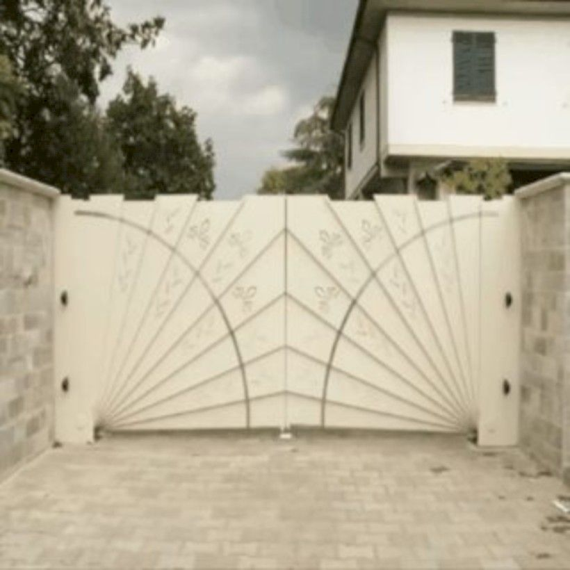 44 Beautiful Automatic Driveway Gate Ideas | Pinterest | Automatic ...