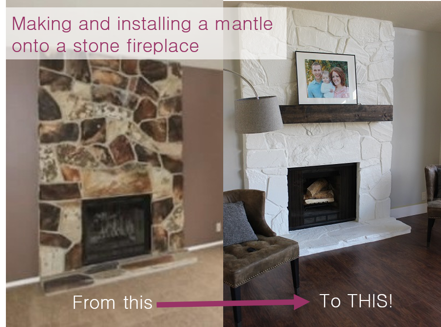Cool Installing And Making A Floating Mantle For Our Stone Download Free Architecture Designs Ferenbritishbridgeorg