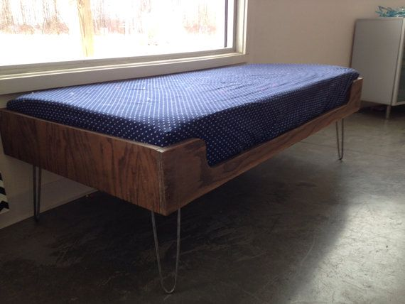 Mid Century Modern Minimalist Plywood Window Seat With By