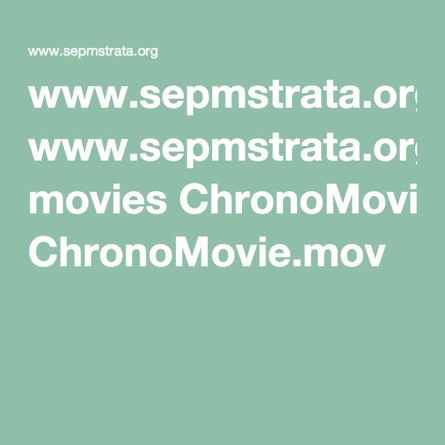 wwwsepmstrataorg movies ChronoMoviemov Science! Pinterest Movie