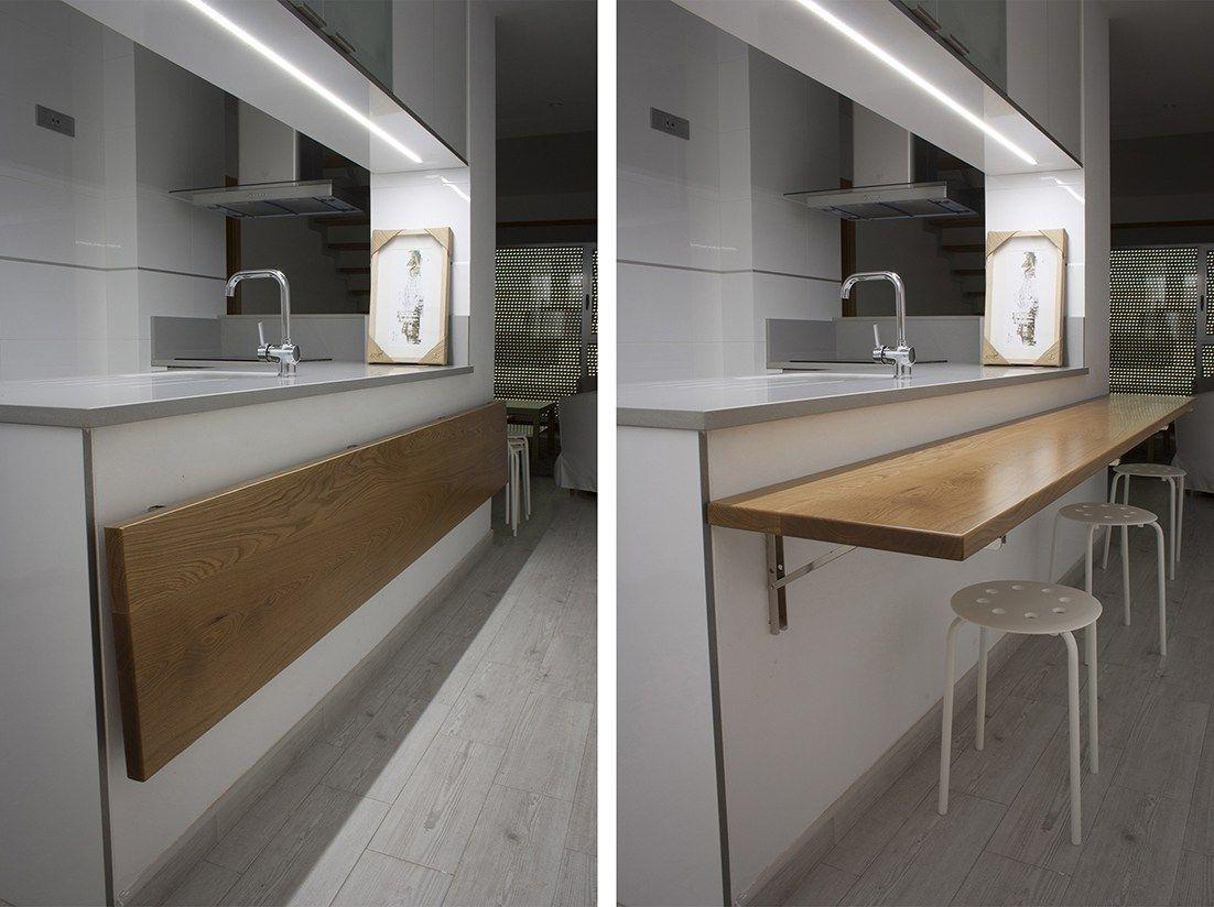 Muebles polivalentes doble funci n pisos y aticos peque os - Muebles de cocina santiago de compostela ...