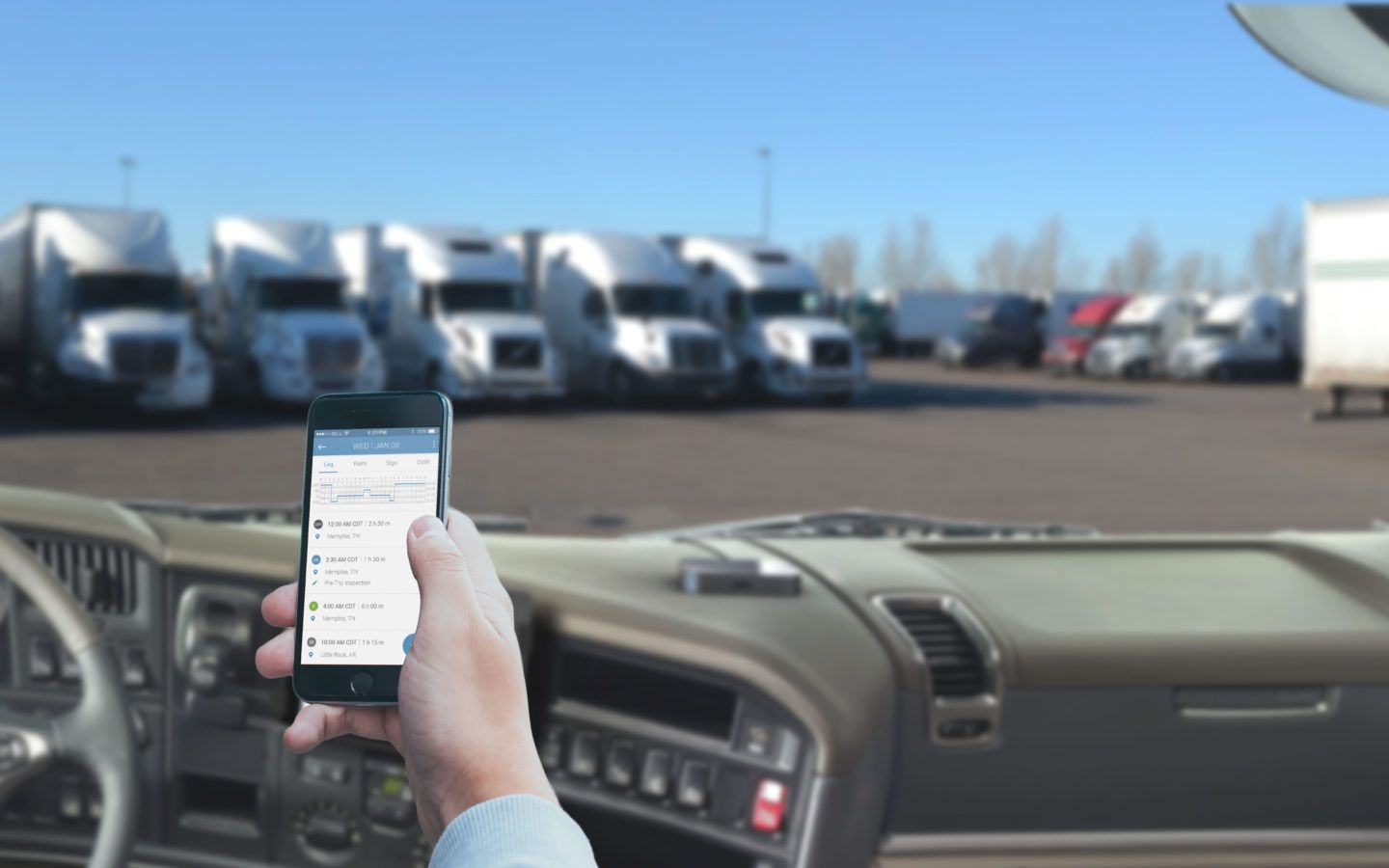 A truck link app for mobile devices is an excellent