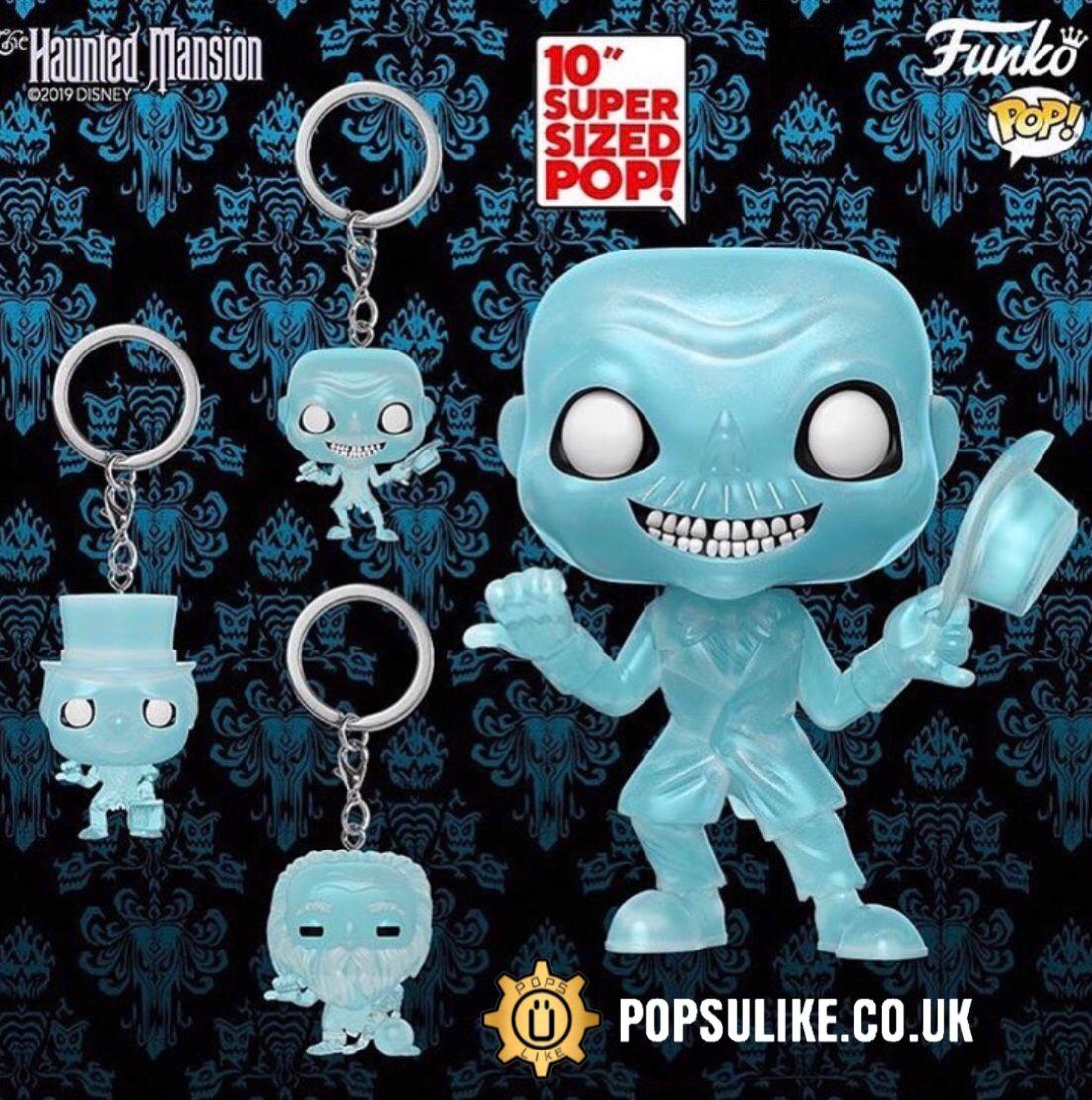 Ezra 10 Inch Funko Pop Vinyl Disney Haunted Mansion 2019 Funko Pop Dolls Funko Pop Vinyl Pop Vinyl Figures