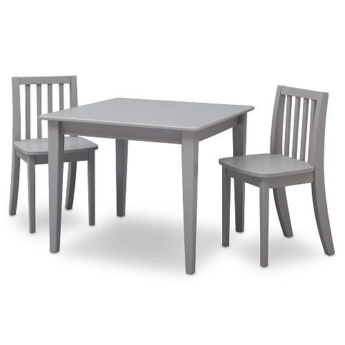 Enjoyable Babies R Us Next Steps Table And 2 Chairs Set Grey Toys Interior Design Ideas Tzicisoteloinfo