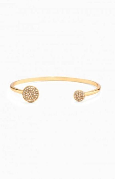 Bracelet jonc or grande taille