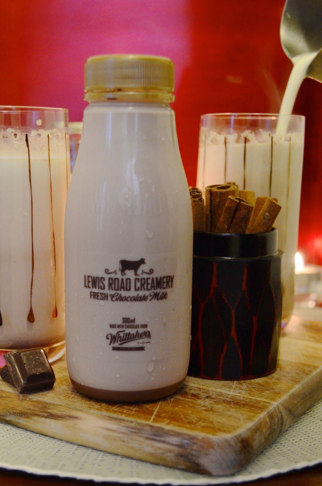 Hot Cocoa Brandy Alexander With Lewis Road Creamery Chocolate Milk