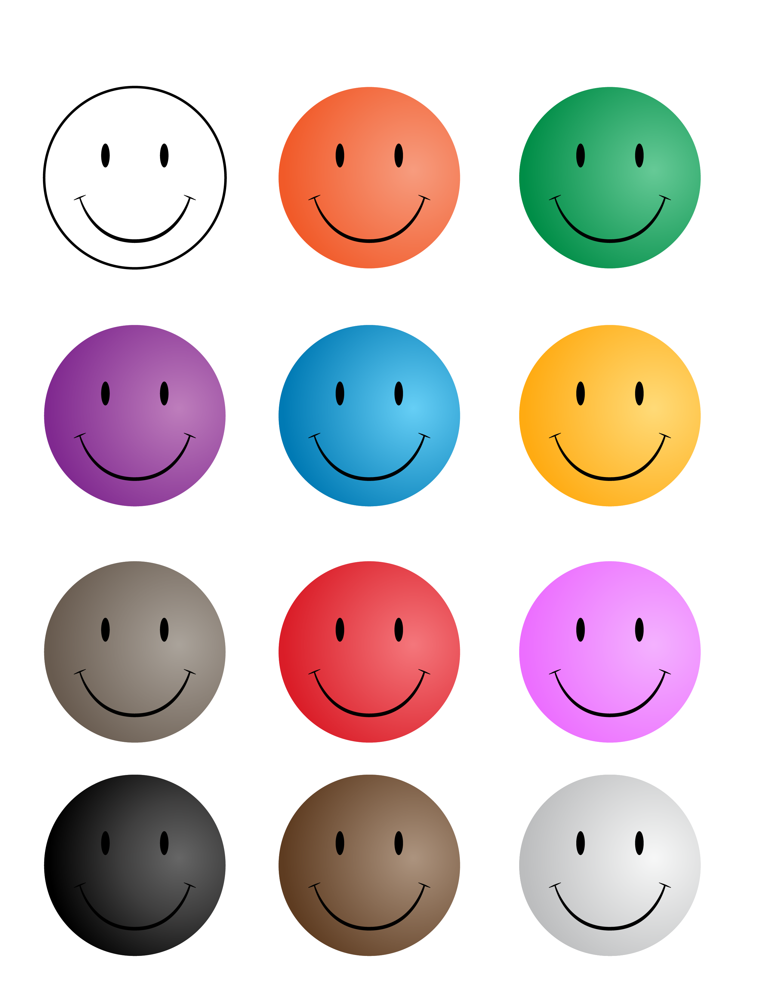 picture relating to Smiley Face Printable identify Smiley-Faces-450w Printables No cost smiley faces, Smiley, Encounter