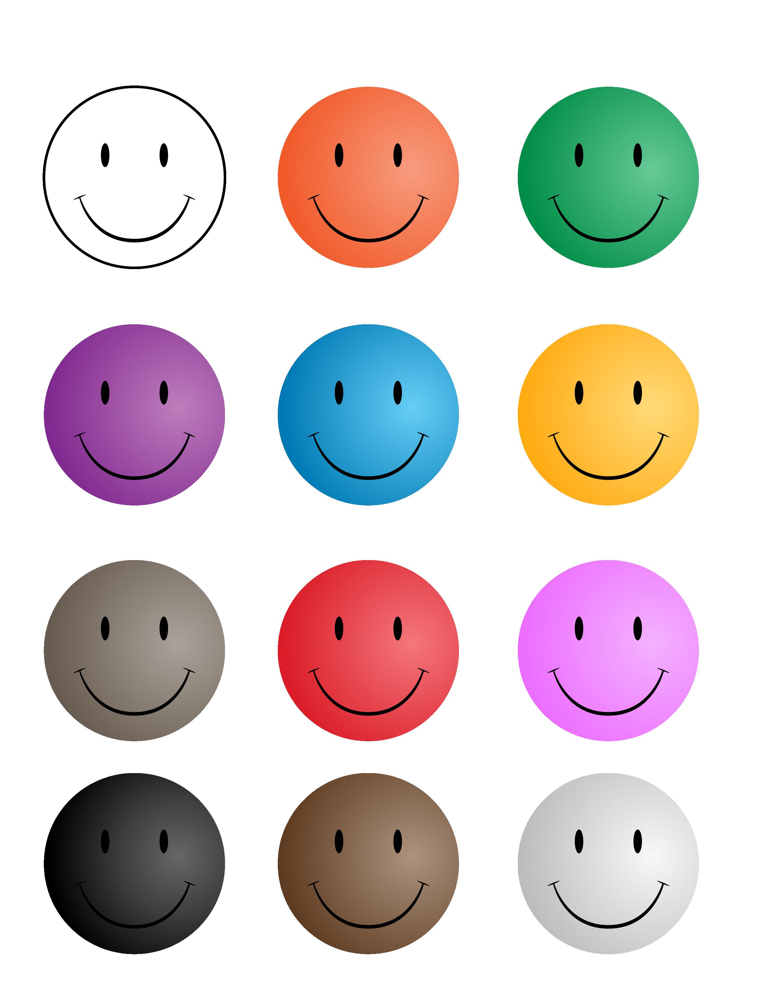 Smiley Faces 450w