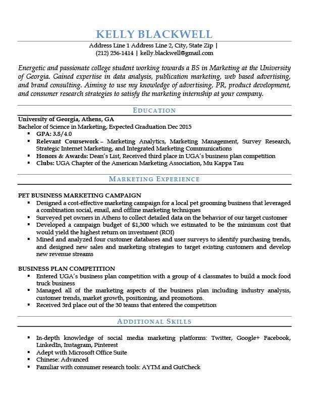 Entry Level Blue Resume Template Jpg 612 792 Job Resume Examples Resume Templates Entry Level Resume