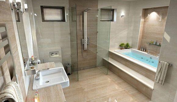 Modelos de baños de lujo Más | Baño | Pinterest | Bathroom, Bathroom ...