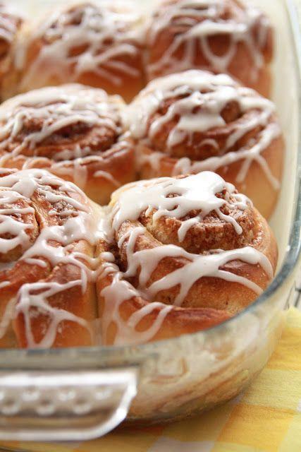 Cinnamon rolls au levain