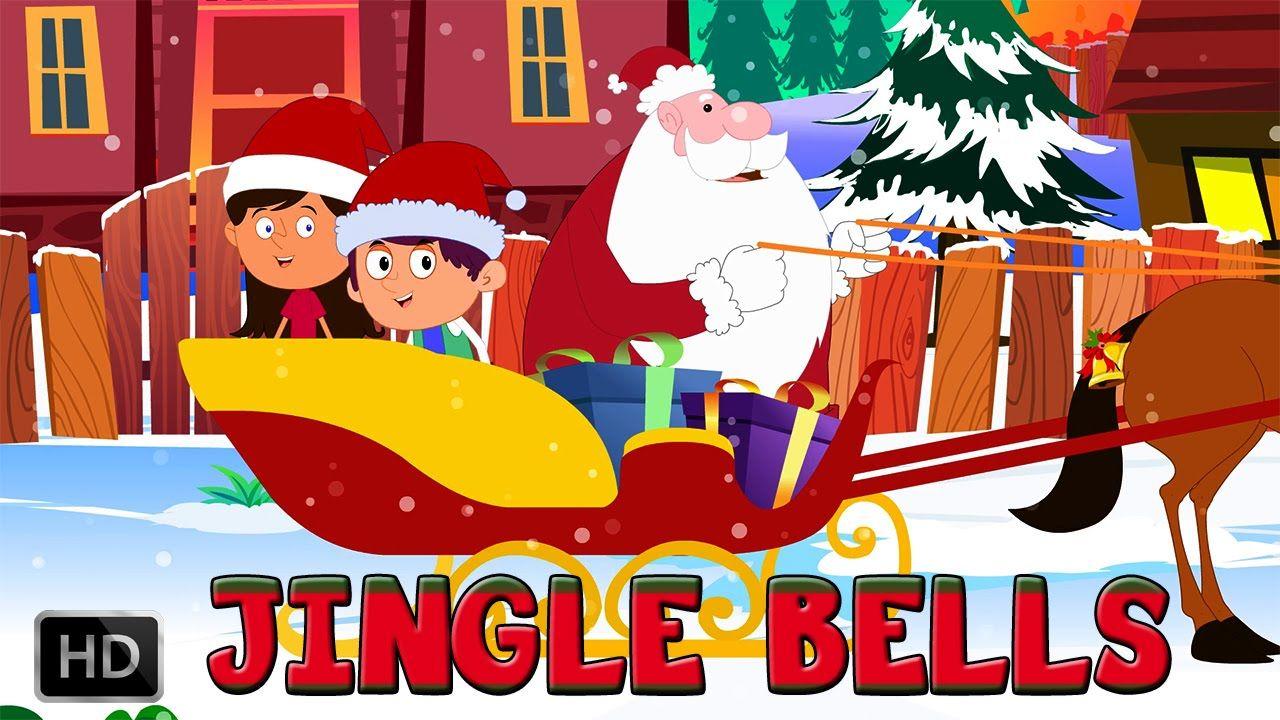 Jingle Bells Christmas Song Popular Christmas Carol For Kids With Lyrics Christmas Carols For Kids Christmas Songs For Kids Christmas Carol