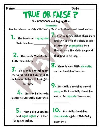The sneetches segregation a dr seuss inspired lesson for black the sneetches segregation a dr seuss inspired lesson for black history month sciox Choice Image