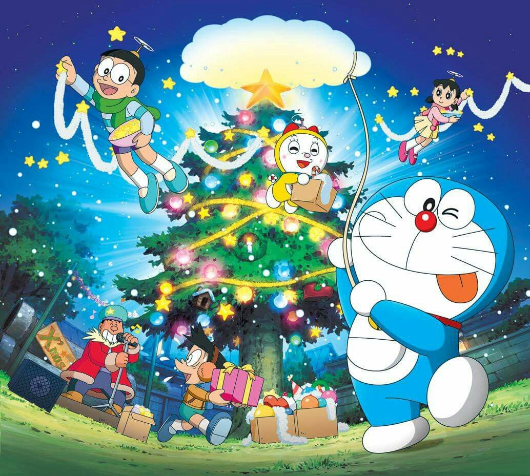 Merry Christmas Doraemon And Co Pinterest Doraemon Doraemon