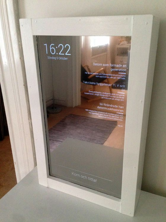 Create Your Own Digital Mirror In Swedish Houses