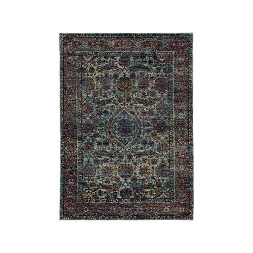 Andorra Blue Runner: 2 Ft. 3-Inch x 8 Ft. - (In No Image Available)
