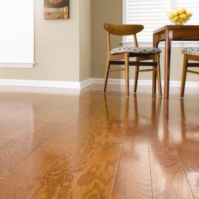 Millstead Oak Harvest 3 8 In Thick X 4 1 4 In Wide X Random Length Engineered Click Hardwood Floor Hardwood Floors Wood Floors Wide Plank Engineered Hardwood