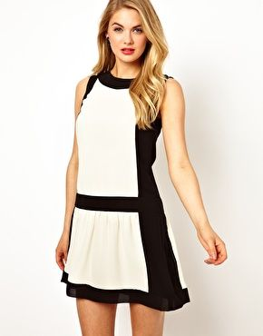 59745411fc67e Image 1 of Ted Baker Dress with Dropped Waist